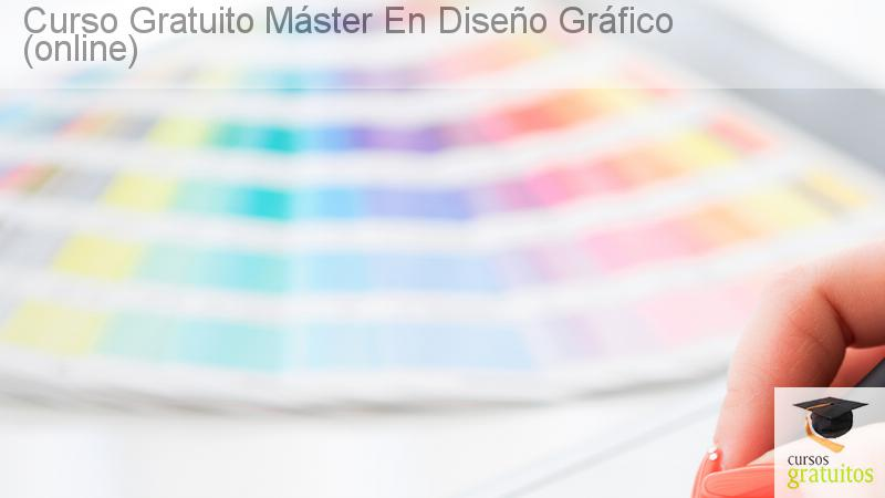 curso gratuito máster en diseño gráfico (online)